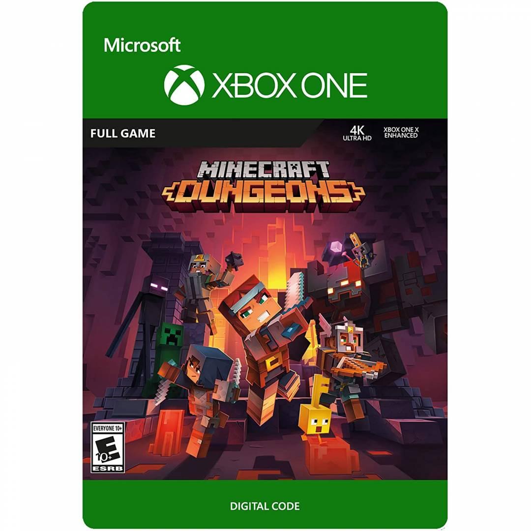 מיינקראפט מבוכים (Minecraft Dungeons Standard - Xbox One [Digital Code
