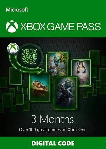 מנוי גיים פאס 3 חודשים Xbox Game Pass