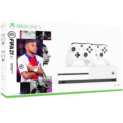 קונסולת וואן Xbox One S 1TB פלוס FIFA-21 ועוד 4 משחקים להיטים