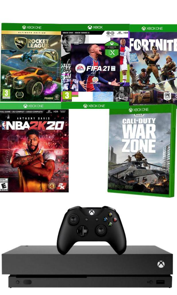 אקס בוקס וואן  X עם פיפא 2021  פלוס 5 משחקים