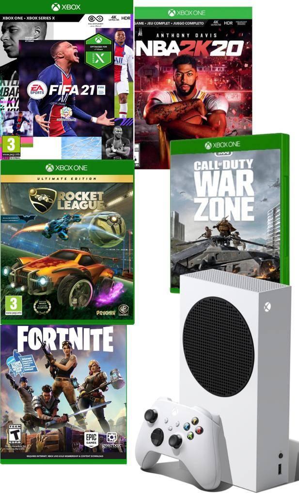 אקס בוקס SERIES S - עם פיפא 21 ועוד 4 משחקים !!!