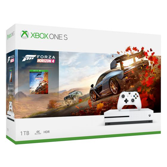 חבילת Xbox Ons S 1TB - Forze Horizon 4
