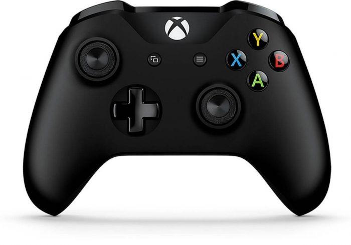 שלט Xbox אלחוטי בצבע שחור